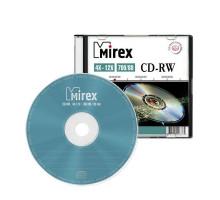 Диск многократной записи CD-RW Mirex 700Mb