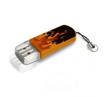 Флэш-накопитель    8Gb USB 2.0    Store n Go Mini Elements Fire, оранжевый рисунок