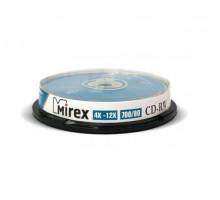 Диск многократной записи CD-RW Mirex 700Mb (10 штук на шпинделе)
