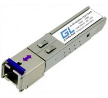 Модуль SFP Gigalink GL-OT-SG14SC1-1550-1310-D (SFP, SC, WDM, до 1Гбит/c, Tx:1550/Rx:1310, Simplex SingleМode, до 20км)