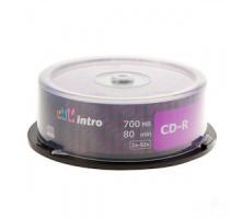 Диск одноразовой записи CD-R Intro 700Mb (25 штук на шпинделе)