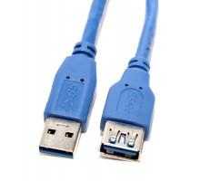 Кабель USB 2.0 удлинительный A (M)  A (F) 3 м