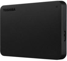 Жесткий диск внешний     0,5 Tb Toshiba    USB3.0  Canvio Basics черный (HDTB405EK3AA)