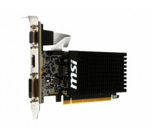 Видеокарта 1Gb MSI GeForce GT 710  PCI-E+DDR3+HDMI+DVI+VGA