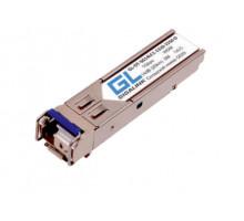 Модуль SFP Gigalink GL-OT-SG14LC1-1550-1310-D (SFP, WDM, 1.25Гбит/c, SM, LC, Tx:1550/Rx:1310 нм, DDM, 14 дБ (до 20 км)