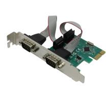 Контроллер PCI-Е, 2хCOM Orient (OXPCIe 952)