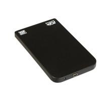 Внешний бокс Age Star SUB2O1 (HDD 2.5″ SATA — USB2.0) алюминий, black