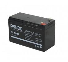 Батарея 12V/7Ah Delta DT 1207