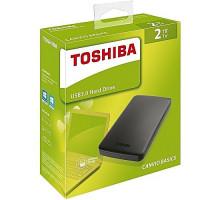 Жесткий диск внешний    2Tb Toshiba  USB 3.0 HDTB420EK3AA Canvio Basics черный