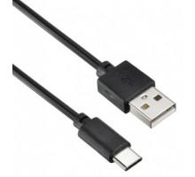 Кабель USB 2.0 A (M)  USB Type-C (M) 1,8/2м черный