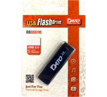 Флэш-накопитель    8Gb USB 2.0 Dato DB8001  черный