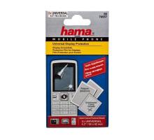 Защитная плёнка Hama, универсальная для мобильных телефонов (2 шт,до 6.2х9.2 см) H-76557