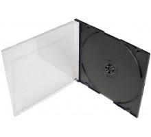 Бокс для CD/DVD Slim, чёрный лоток