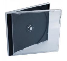 Бокс для CD/DVD Jevel, чёрный лоток
