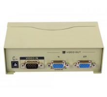 Разветвитель VGA VCOM VDS8015/VS-92A (1=>2)