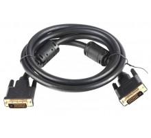 Кабель DVI-D  DVI-D dual link (25M-25M) 1.8 м, позолоченные контакты