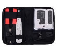 Набор инструментов Cablexpert TK-NCT-01 для работы с локальной сетью (4 предмета)