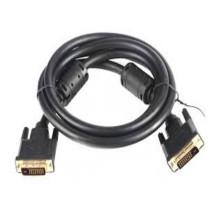 Кабель DVI-D  DVI-D dual link (25M-25M) 3 м, позолоченные контакты