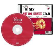 Диск одноразовой записи CD-R Mirex 700Mb