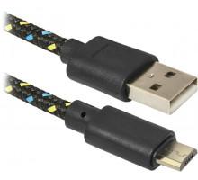 Кабель USB 2.0 A (M)  microB (M)  1м