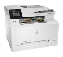 МФУ HP LaserJet Pro Color M283fdn (Цвет, факс, А4, 21 стр/мин (ч/цв), 256Mb, 600х600, дупл., ADF, Ethernet, USB)