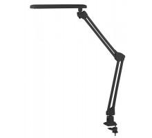 Светильник настольный ЭРА NLED-441-7W-BK (светодиоды, струбцина, 3000К, 7Вт) черный