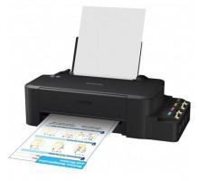 Принтер Epson L120 (A4, 8,5/4,5 стр/мин (черн/цветн). 720х720, 4-цв. СНПЧ, USB)