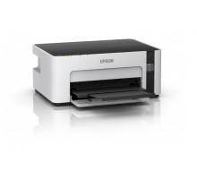 Принтер Epson M1120 (А4, 15 стр/мин (черн/цвет), 1440×720, 1-цв. СНПЧ, USB)
