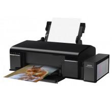 Принтер Epson L805 (А4, 37стр/мин, 5760х1440, 6-цв. СНПЧ, печать на CD, WiFi, USB)