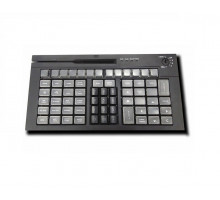 Клавиатура программируемая POScenter S67B (67 клавиш, MSR, ключ, USB), черная